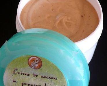 """Crème de savon """"provençale"""" pour le visage"""