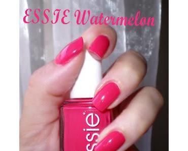 Mon 1er Vernis Essie à la Pastèque (Watermelon)