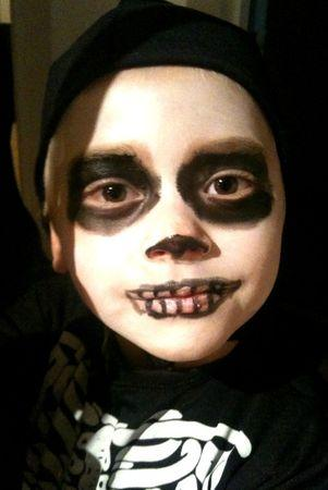 Antoine maquillage halloween