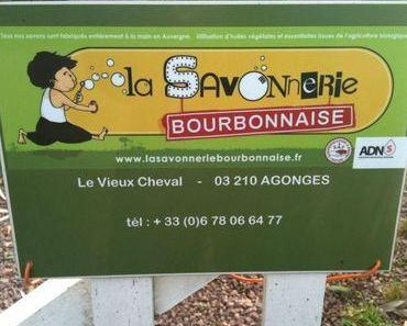 Sealeha en vadrouille... à la Savonnerie Bourbonnaise !