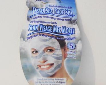 Masque soin visage de la mer morte