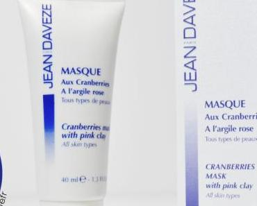 Jean D'Aveze : Masque aux cranberries