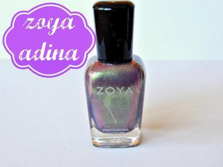 Une belle variation chromatique - Adina de Zoya