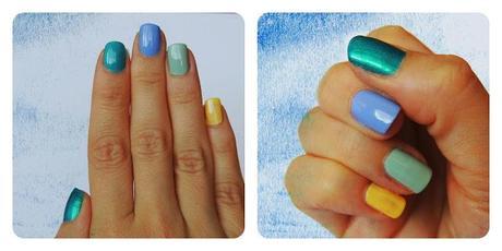 Ma sélection de Vernis pour l'été : Variations Chromatiques bleues et rouges