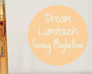 Illuminer et Corriger avec le Dream Lumi Touch de chez Gemey