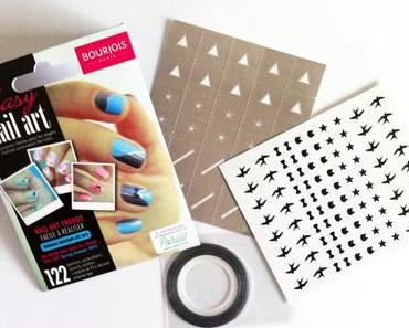 Mon 1er nail art avec le kit Easy Nail Art de Bourjois !