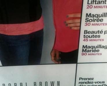Ma leçon de maquillage de mariée chez Bobbi Brown