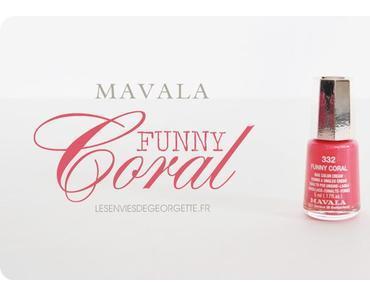 Vernis Mavala Funny Coral