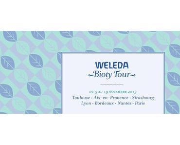 #News @ Les Apéros Beauté : WELEDA Bioty Tour du 5 au 19 novembre