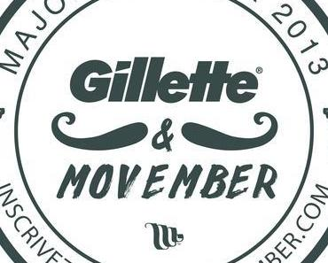 #News : Gillette s'engage auprès de la Fondation Movember