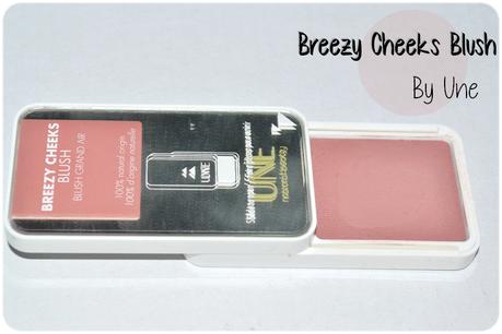 Breezy Cheeks Blush by Une (+ bon plan)