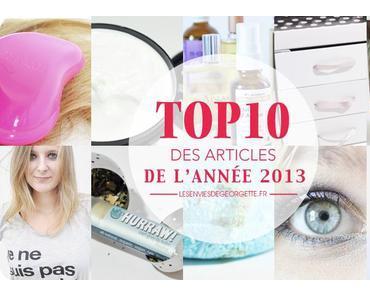 Top 10 des articles de l'année !