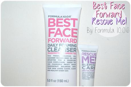 Formula 10.0.6 où comment lutter pour une jolie peau!
