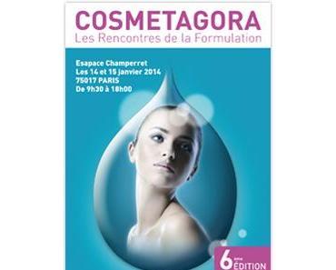 [Agenda] Ne manquez pas Cosmetagora, les rencontres de la formulation !