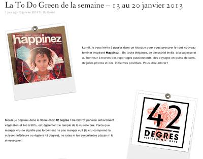 [Résolution N°11] Des idées pour adopter une green & girly attitude  !