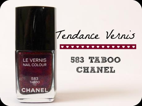 Trendy Vernis : Le Taboo  de Chanel