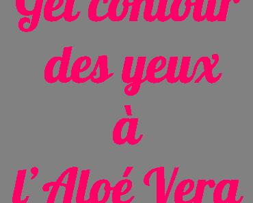 DIY : Roll-on hydratant et soin contour des yeux à l'Aloé Vera.
