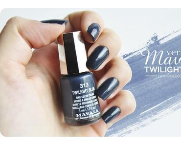 Le magnifique bleu nuit de Mavala : Twilight Blue