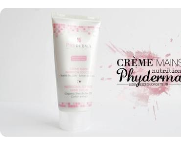 Crème mains nutrition douceur de Phyderma