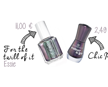 Chic Reloaled by Essence (Dupe For The Twill Of It by Essie)