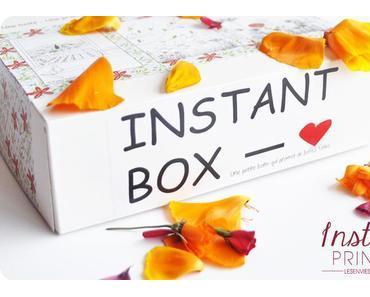 l'Instant Box : une nouvelle beauty box prometeuse