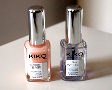 Battle de bases Kiko: Smooth base VS 3 in 1 white