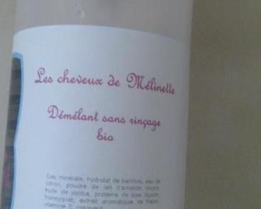 """Spray démêlant sans rinçage """"Les Cheveux de Mélinette"""""""