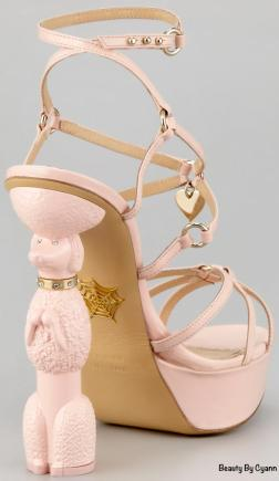 Chaussures caniches de Charlotte Olympia