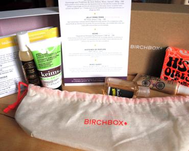 Birchbox mars et avril: Une vitaminée et une délicieuse!