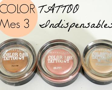 Color Tattoo : 3 Incontournables