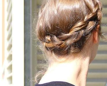Tuto coiffure en vidéo : la tresse «couronne»