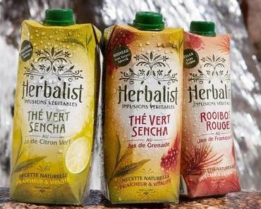 Herbalist : se désaltérer, sans boire de sucre liquide !