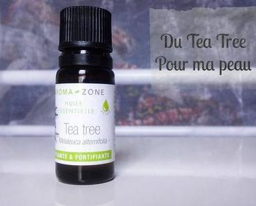 Du Tea Tree pour ma peau