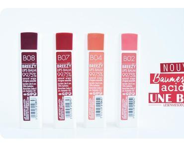 Les nouveaux Baumes lèvres acidulés Une Beauty