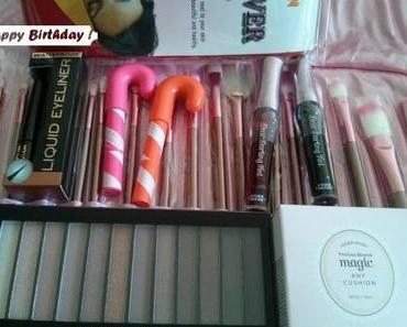 Maquillage et soin : mon haul d'anniversaire Ebay US et Makeup Revolution