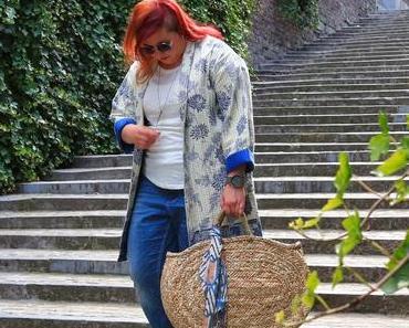 Stylée avec une pièce en jean #French Curves Challenge