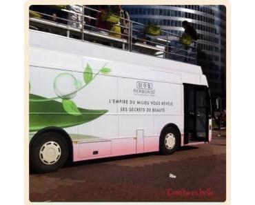 Le bus Herborist était à la Défense aujourd'hui !