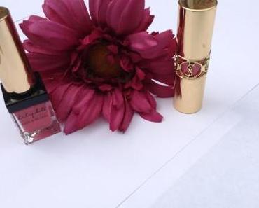 Deux roses, une marque : Yves Saint Laurent