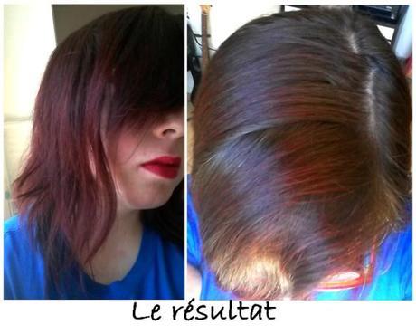 Point cheveux - le résultat