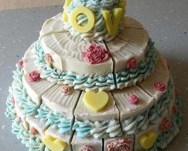 Savon wedding cake