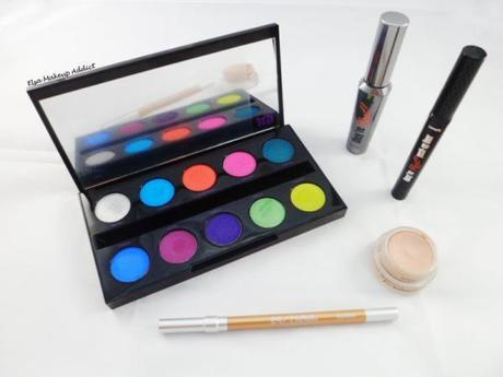 Makeup Vert Electric Palette UD 4