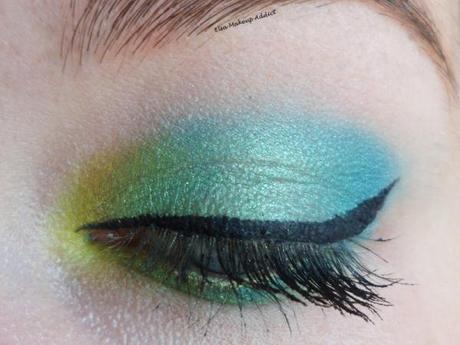Makeup Vert Electric Palette UD 1