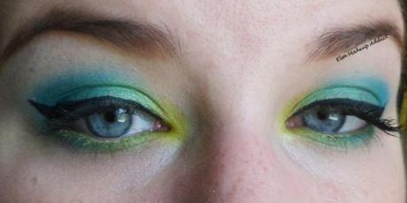 Makeup Vert Electric Palette UD 3