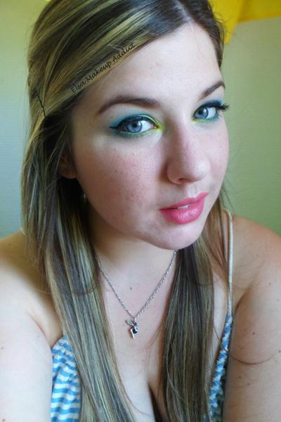 Makeup Vert Electric Palette UD 6