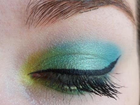 Makeup Vert Electric Palette UD 2
