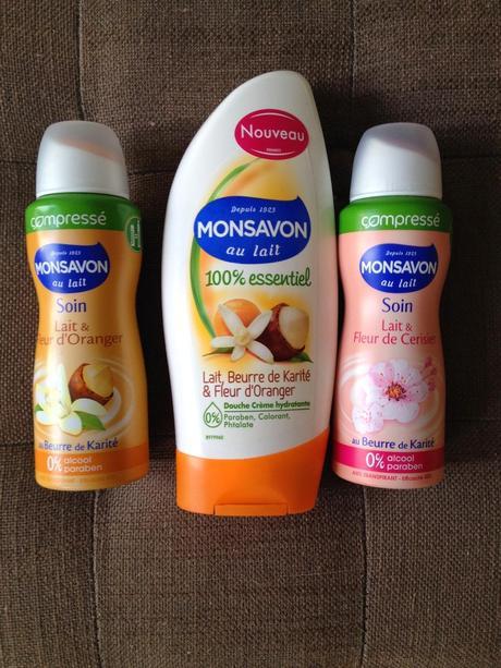 Un nouveau parfum délice avec le gel douche et déo compressé Monsavon (Jeu concours inside)