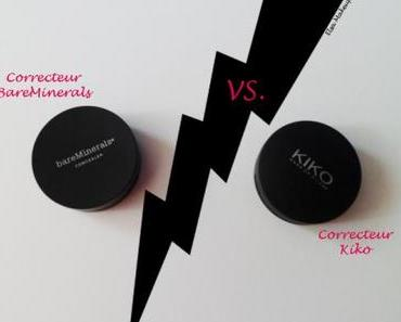 Battle de correcteurs : BareMinerals vs. Kiko