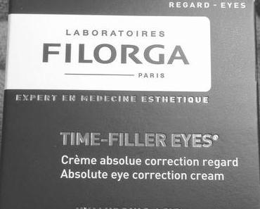 J'ai testé le Time Filler Eyes de Filorga et je vous le recommande !