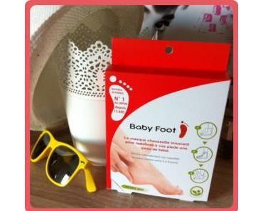 Le masque chaussette Baby Foot pour des pieds de bébés… ou pas