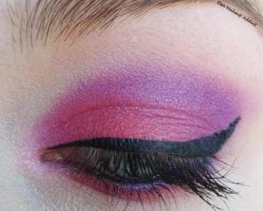 Electric Purple Makeup